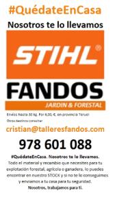 FANDOS STIHL QUEDATE EN CASA